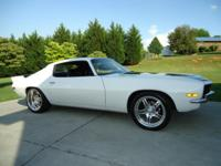 I have for auction here a very nice '71 Camaro SS.