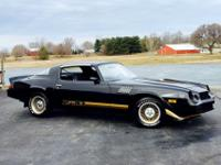 Nicely restored 1979 Z28 Camaro. It is hard to find