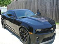 Single Owner 2012 Black Chevy Camaro ZL15th one of its