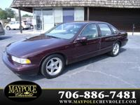 Options Included: N/AOne of few! 1995 Chevrolet Impala