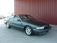 Options Included: N/A1996 IMPALA SS SEDAN, CARFAX