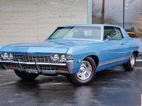 This 1968 Chevrolet Caprice Coupe is a real American