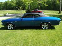 Beautiful 1969 Chevrolet Chevelle SS - Off frame