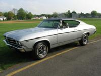 For sale is my 1969 chevelle SS 396.This car was frame
