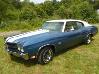 1970 CHEVROLET CHEVELLE SS454 LS5 4 SPEED. THIS IS A