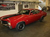 1971 Chevrolet Chevelle with 350 SS package. Factory 4