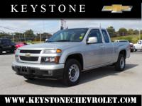 Who could resist this 2012 Chevrolet Colorado Work