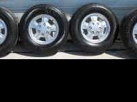 I have a set of 2008 Chevrolet Colorado Wheels & Tires.