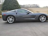 2009 CHEVROLET Corvette; RARE LOADED 4LT Custom Leather