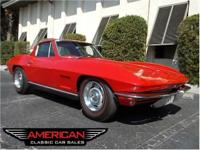 Fully documented, highly optioned 1967 Corvette Coupe