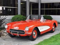 1957 Chevrolet Corvette VIN: E57S104195 Factory fuel