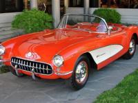 1957 Chevrolet Corvette VIN: E57S104195 Factory fuel
