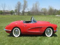 VERY NICE USED 1959 CHEVROLET CORVETTE CONVERTIBLE