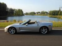 2006 Corvette Convertible, Machine Silver With Titanium