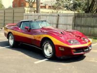 1980 Custom Corvette in great condition. Only 10,000