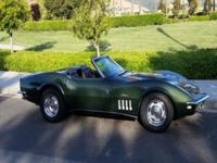 1969 Corvette Convertible big block with hard top. It