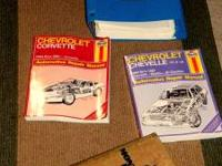 CHEVROLET CORVETTE CHEVY MANUALS MANUALS FOR A