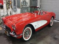 1961 Chevy Corvette Convertible Ex-Fuelie Roadster. In