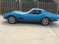 1969 Corvette Coupe, 427/400hp, 4 speed. This is a very