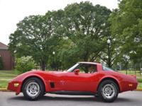 Beautiful Red 1981 Chevrolet Corvette 4-speed (matching