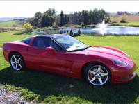 2005 Corvette Coupe ~Stock #: 190A~ Victory Red