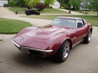 Numbers Matching 1970 Corvette Stingray LS5 Coupe