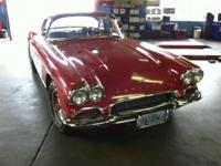 This 1961 Corvette was purchased in 1985 and has been