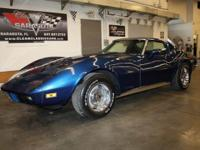 Extra clean 1973 Corvette . Original numbers matching
