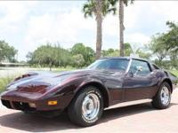 1973 Corvette T-Top Coupe in outstanding shape. Recent