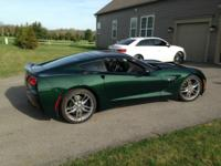 I am selling my Lime Rock Green 2014 3LT Corvette Z-51
