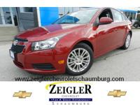You can't go wrong with this red 2014 Chevrolet Cruze