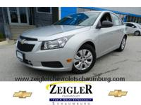 Take a look at this 2014 Chevrolet Cruze LS. It has a