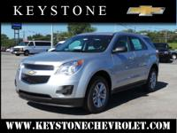 How about this 2014 Equinox LS? It comes with a 2.40