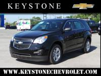 Who could resist this 2014 Chevrolet Equinox LS? This