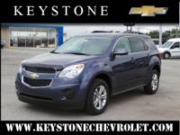 It's hard to resist this blue 2013 Chevrolet Equinox