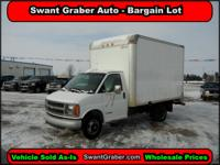 2002 Chevrolet Express Cube Van - Swant Graber Auto