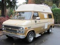 This camper van is as nice as they come. One family