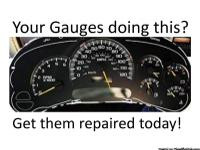Are Your Gauges Going Haywire? We repair YOUR