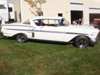 1958 chevy impala 2 door sport coupe.restored.new