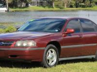 We are offering a 2001 Chevrolet Impala. All power
