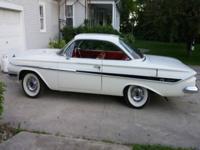 I have a 1961 Chevrolet Impala 2 Door Hardtop Bubbletop
