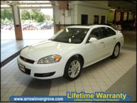 The 2012 Chevy Impala is a full-size four-door sedan
