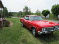 1966 Impala SS 396 325 HP 4 speed with only 32,421 Orig