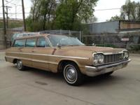 1964 Chevrolet Impala Station Wagon. Two owner car with