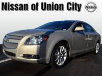 This gold 2012 Chevrolet Malibu LTZ might be just the