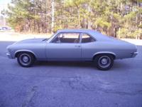 Here is a very nice freshly built 1968 Chevy II Nova.