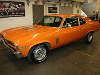 Real Deal 1969 Nova SS 350 with matching engine/trans