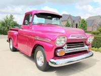 1959 Chevy Apache Pickup 350 engine 4 speed manual