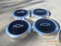 These are a set of (4) Chevrolet S-15 hub caps. I took