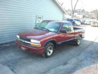 A GOOD LOOKING 2 WD MANUAL SHIFT TRUCK GOOD CONDITION